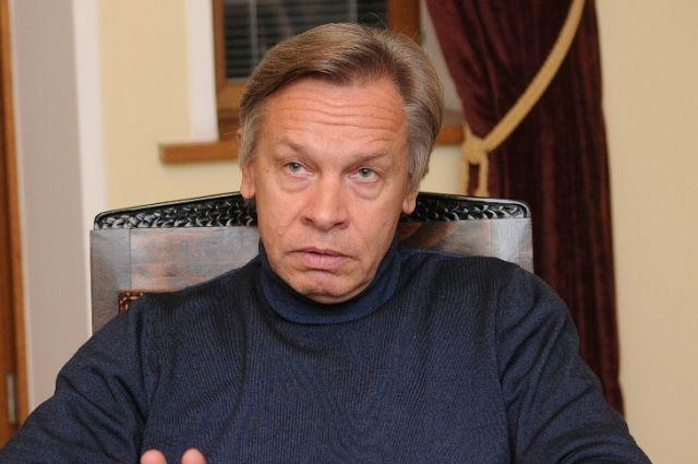 Пушков спрогнозировал план Байдена по борьбе с РФ при помощи Украины