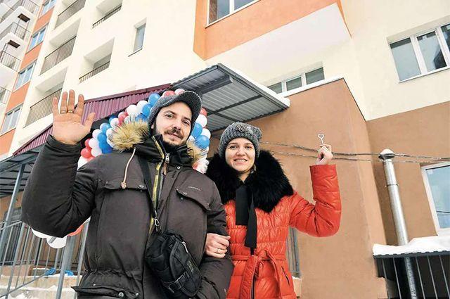 С новосельем. В Самарской области достроено 16 проблемных долёвок