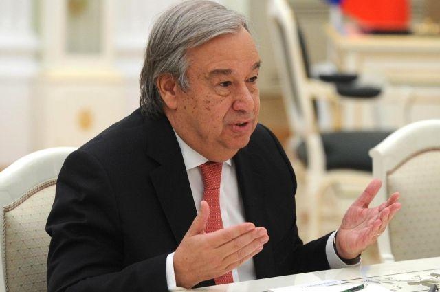 Генсек ООН оценил указы Байдена о ВОЗ и соглашении по климату