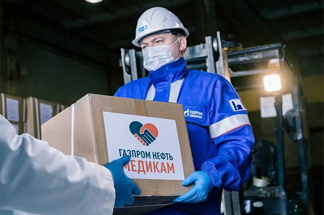 Помогать тем, кто помогает. «Газпром нефть» поддержала врачей и волонтёров