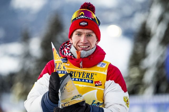 Лыжник Большунов досрочно стал победителем в общем зачете Кубка мира