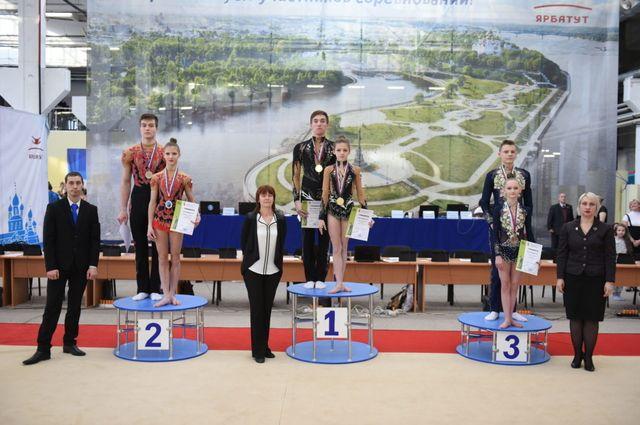 Брянские акробаты заняли первое место в двух возрастных категориях