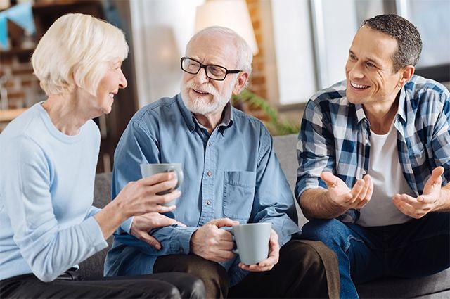 Выдержка и участие. Правила разумного общения с пожилыми родителями