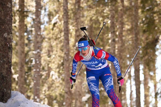 Российские биатлонисты остались без медалей на шестой гонке ЧМ подряд