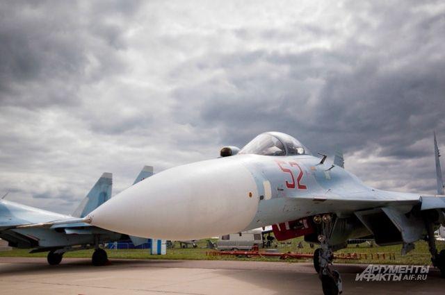Российские Су-27 перехватили над Черным морем французские военные самолеты