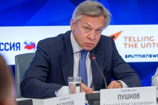 Пушков объяснил, почему США и Европа не могут отменить санкции против РФ