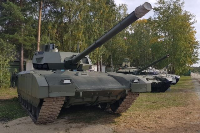 Танки «Армата» станут мобильными штабами — Известия