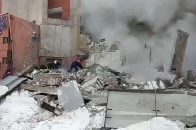 Взрыв бытового газа в Нижнем Новгороде