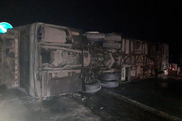 Следователи возбудили дело после ДТП с рейсовым автобусом под Рязанью