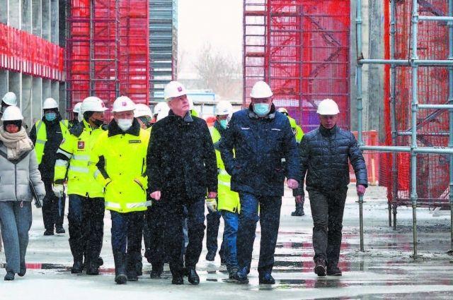 Ракета готовится к стройке. В Москве откроют Национальный космический центр