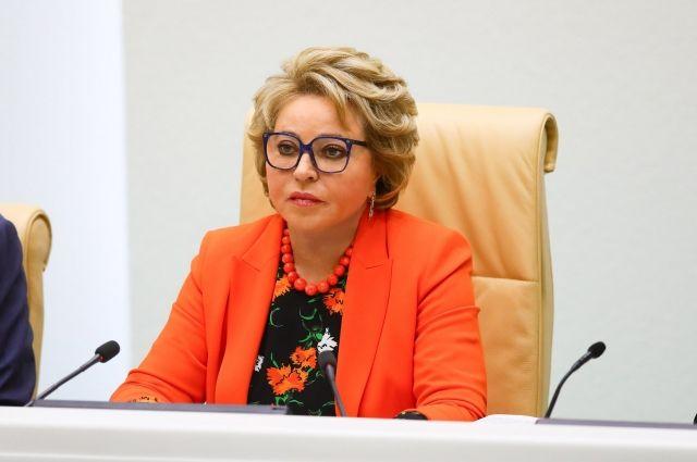 Матвиенко спрогнозировала снятие ограничений по COVID-19 к осени