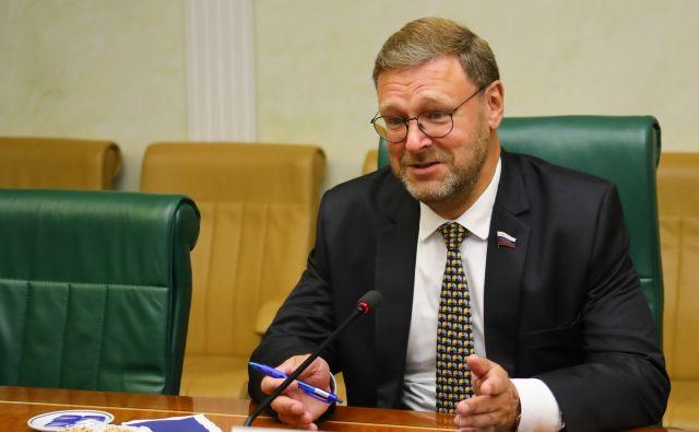 Косачев считает, что Россия должна ответить на заявление генсека НАТО