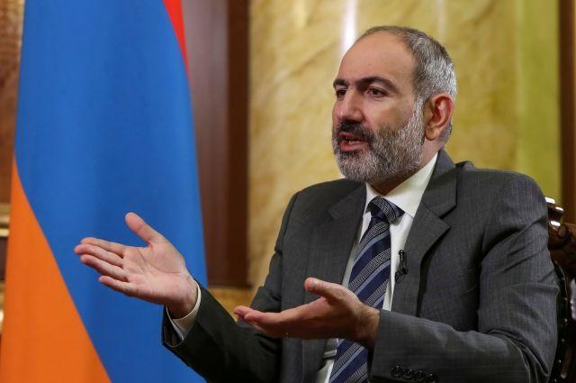 Пашинян сообщил о намерении подать в отставку