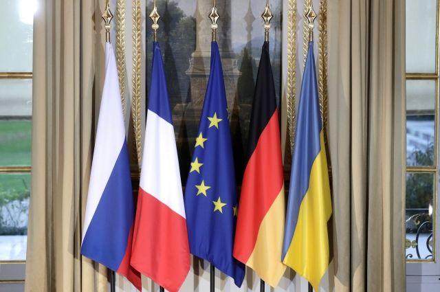 Украина отреагировала на подготовку переговоров Путина, Макрона и Меркель