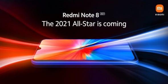 Xiaomi раскрыла дизайн Redmi Note 8 2021