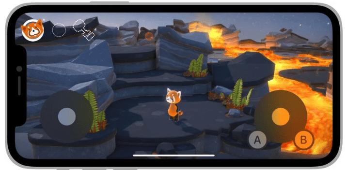 Apple делает новый экранный игровой контроллер доступным для разработчиков на iOS 15 и iPadOS 15