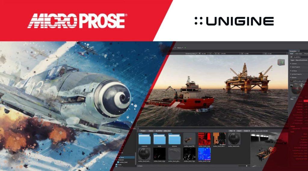 Новые игры MicroProse будут сделаны на российском движке UNIGINE