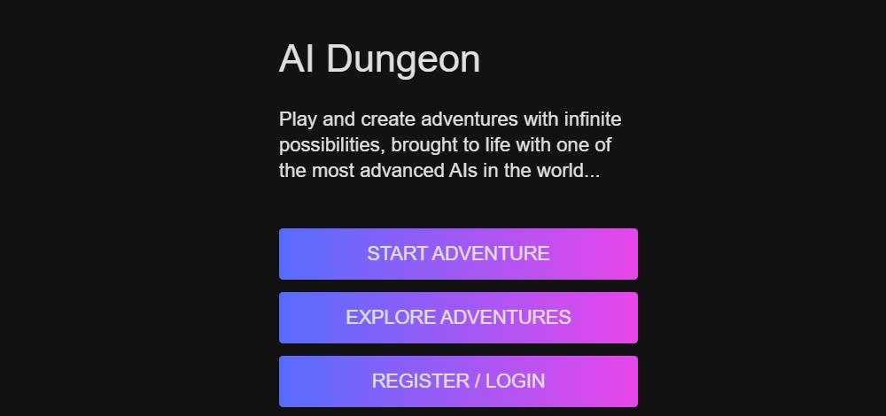 Создатели текстовой песочницы AI Dungeon, в которой сюжеты генерирует ИИ, привлекли $3,3 млн