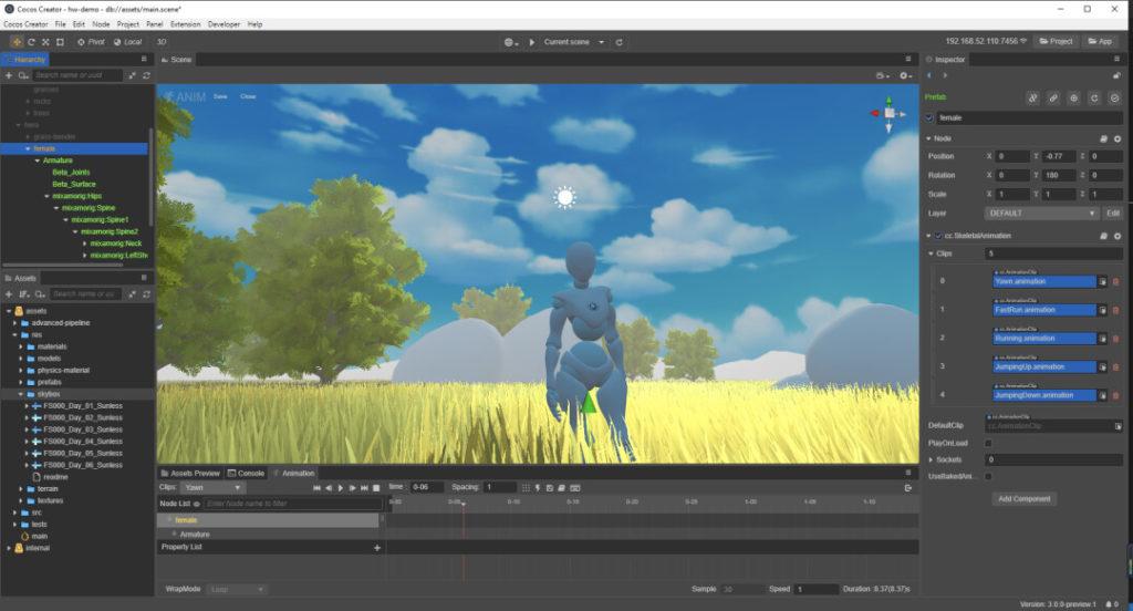 Движок Cocos Creator получил поддержку 3D-функций