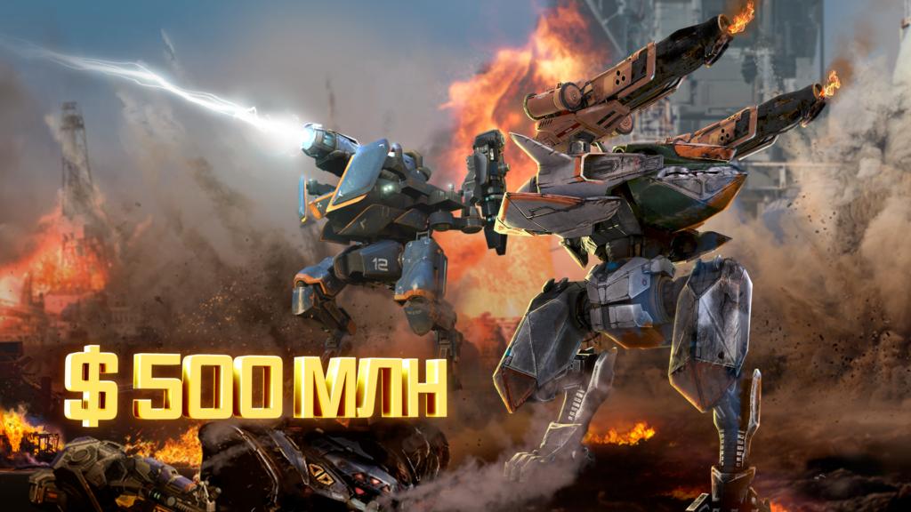 Выручка War Robots превысила $500 млн с момента релиза