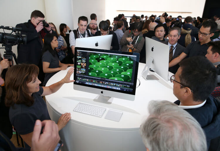 Apple действительно работает над сенсорным Mac. Вот доказательства