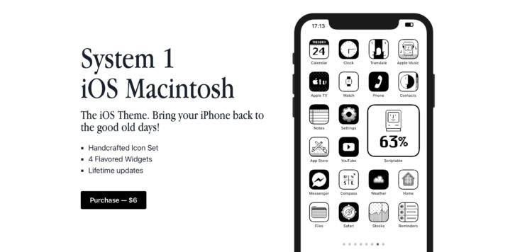 Только посмотрите на эти иконки для iOS в стиле Macintosh 1984