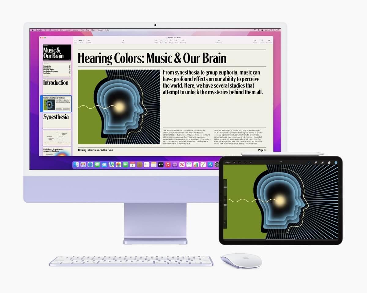Теперь Mac можно использовать как монитор для iPhone, iPad и других Mac. Работает даже на старых iPhone