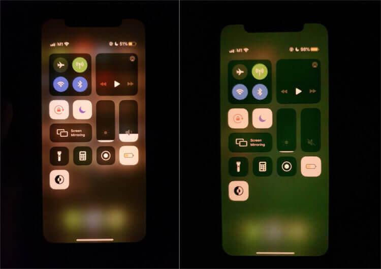 Экран моего iPhone 11 стал зеленым. Как удалось решить проблему