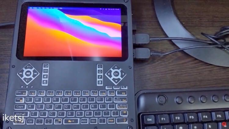 Энтузиаст показал, как собрать свой карманный компьютер на macOS Big Sur