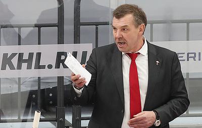 Знарок не считает, что хоккеисты 'Спартака' провели плохой матч с 'Динамо'