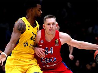 ЦСКА проиграл 'Барселоне' в матче Евролиги