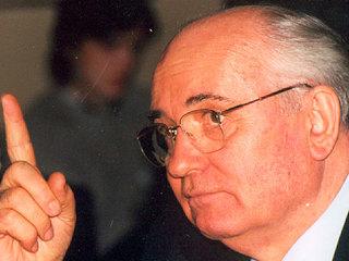 Горбачев высказался о 'разбойничьих планах' политиков