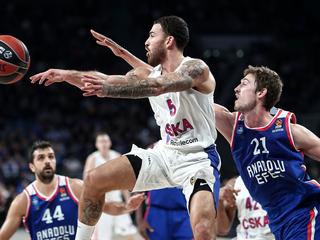 Баскетболисты ЦСКА потерпели крупное поражение в Евролиге