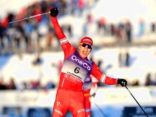 Большунов: выиграть 'Тур Де Ски' второй год подряд – огромная честь