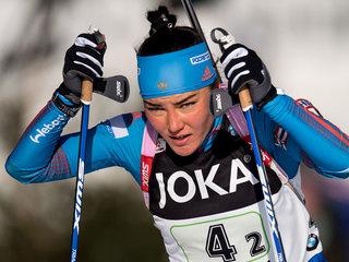Акимова выступит в эстафете на этапе Кубка мира
