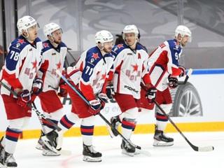 Хоккеисты ЦСКА перебросали 'Йокерит' в результативном матче КХЛ