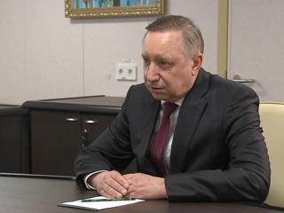 Беглов заявил об улучшении ситуации с COVID-19 в Петербурге