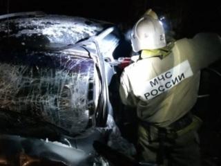 Столкновение микроавтобуса и внедорожника в Твери: 11 пострадавших