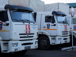 В Степанакерт прибыли дополнительные силы МЧС РФ