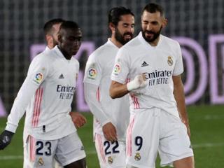 Голы Каземиро и Бензема принесли победу 'Реалу' в матче с 'Гранадой'