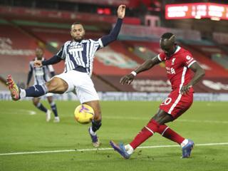 'Ливерпуль' упустил победу в игре с 'Вест Бромвичем'