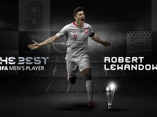 ФИФА назвала форварда 'Баварии' Левандовски лучшим футболистом 2020 года