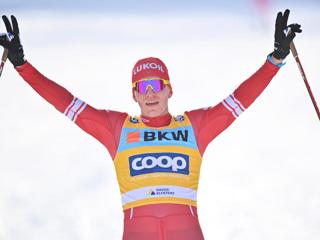 Лыжник Большунов выиграл второй 'Тур Де Ски' подряд, у Спицова – бронза