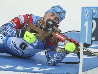Йоханнес Бе выиграл масс-старт на этапе Кубка мира, Логинов – 19-й