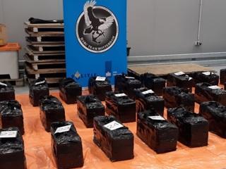 Нидерланды перехватили партию кокаина в грузе для фирмы из России