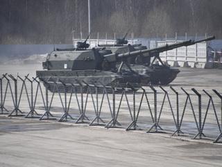 На испытаниях САУ 'Коалиция-СВ' поразила цель шестью снарядами одновременно