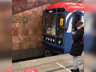 В Москве женщина выжила после падения на рельсы метро