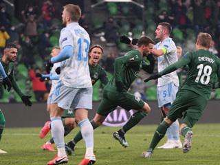 'Краснодар' проиграл загребскому 'Динамо' в матче Лиги Европы