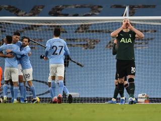 'Манчестер Сити' разгромил 'Тоттенхэм' в чемпионате Англии