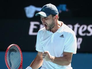 Карацев в четвертьфинале Australian Open сыграет с Димитровым